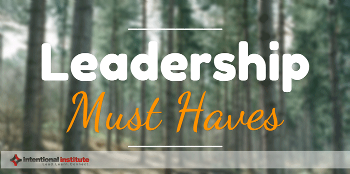 Leadership Musts